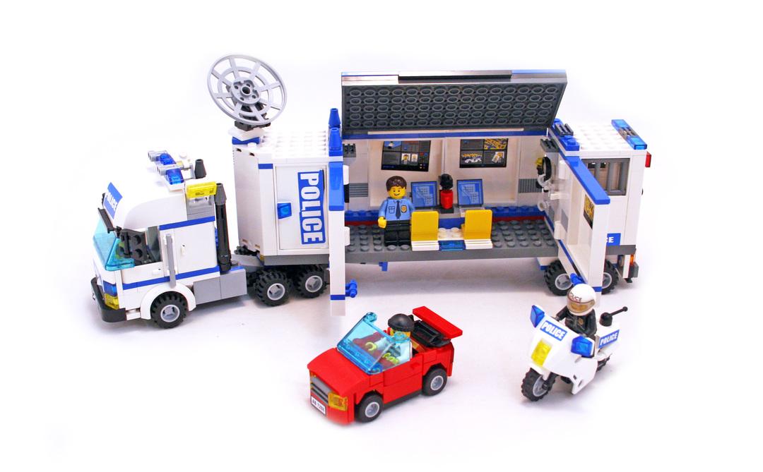 Mobile Police Unit Lego Set 7288 1 Building Sets City