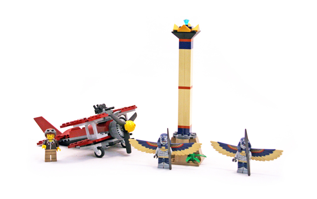 Flying Mummy Attack - LEGO set #7307-1 - 1