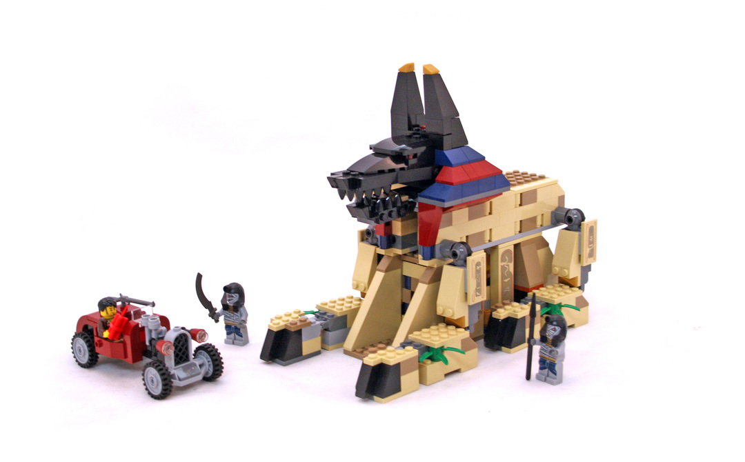 Rise of the Sphinx - LEGO set #7326-1 - 1