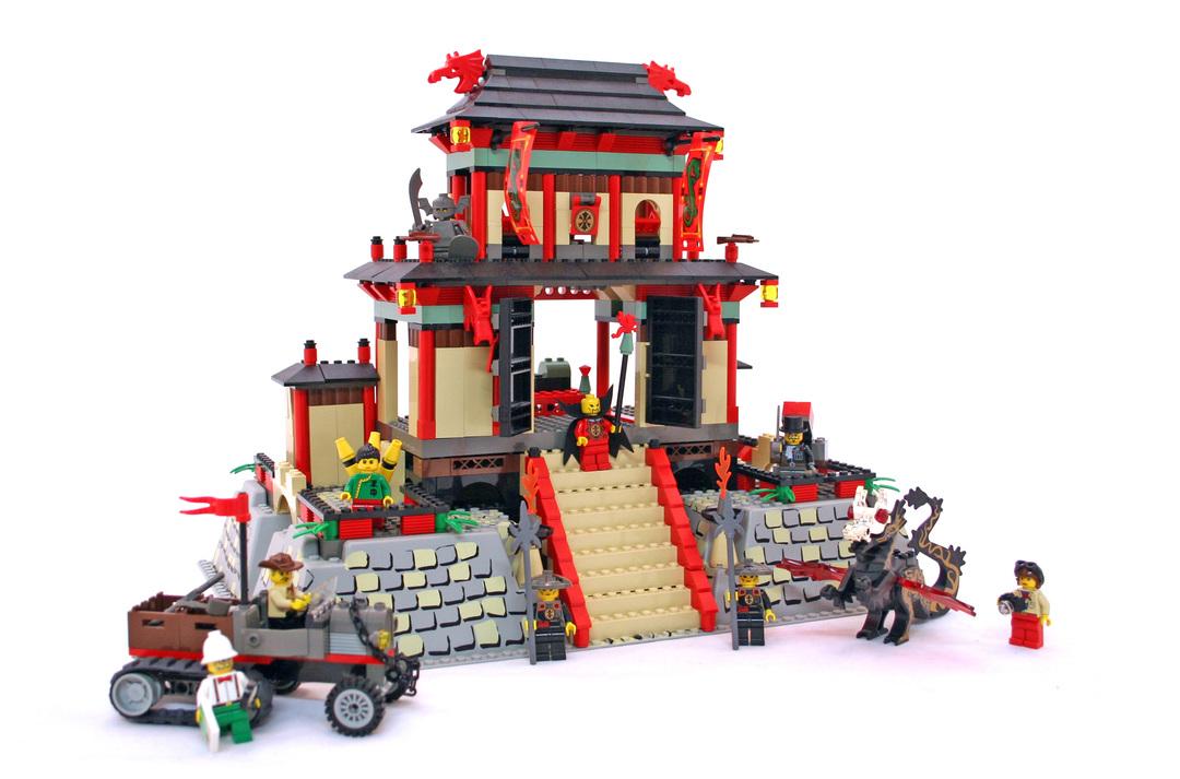 Dragon Fortress - LEGO set #7419-1