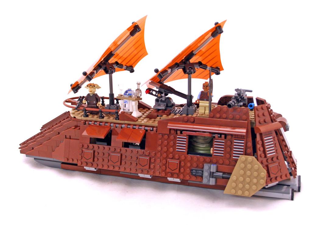 Jabba's Sail Barge - LEGO set #75020-1