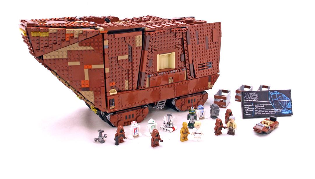 Sandcrawler - UCS - LEGO set #75059-1
