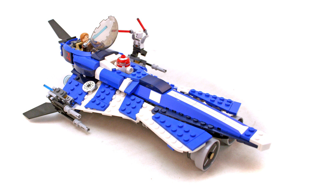 Anakin's Custom Jedi Starfighter - LEGO set #75087-1
