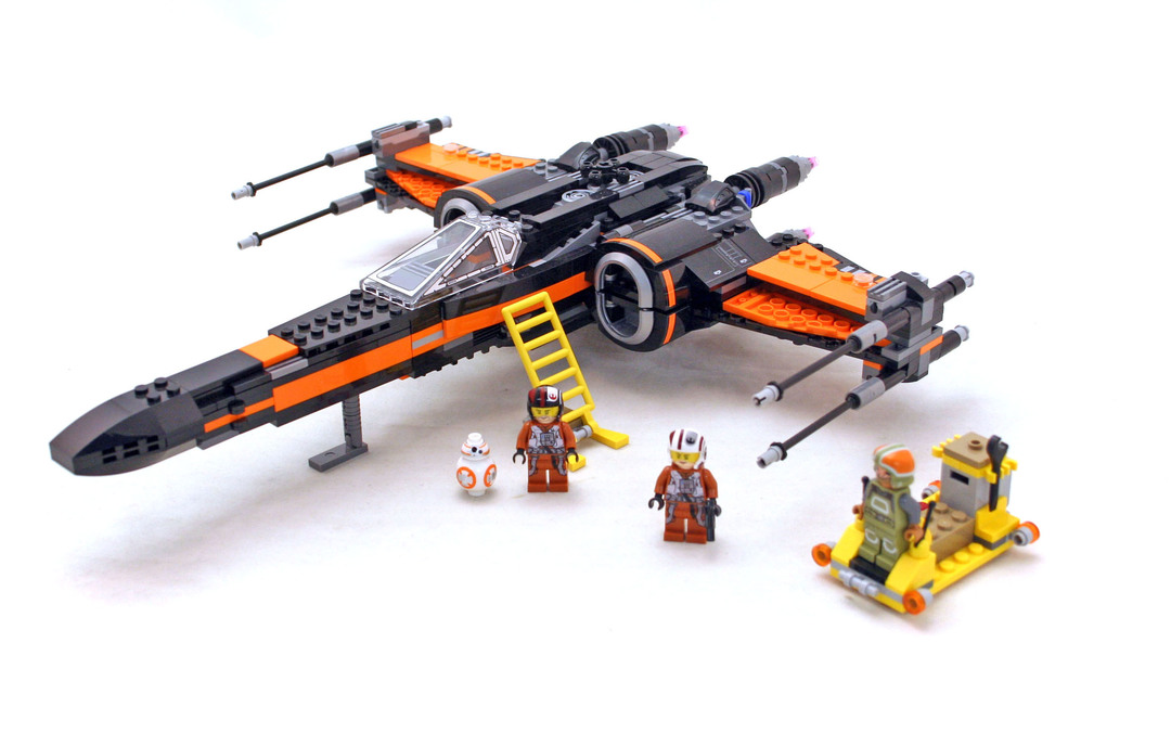 Poe's X-wing Fighter - LEGO set #75102-1 (Building Sets > Star Wars ...