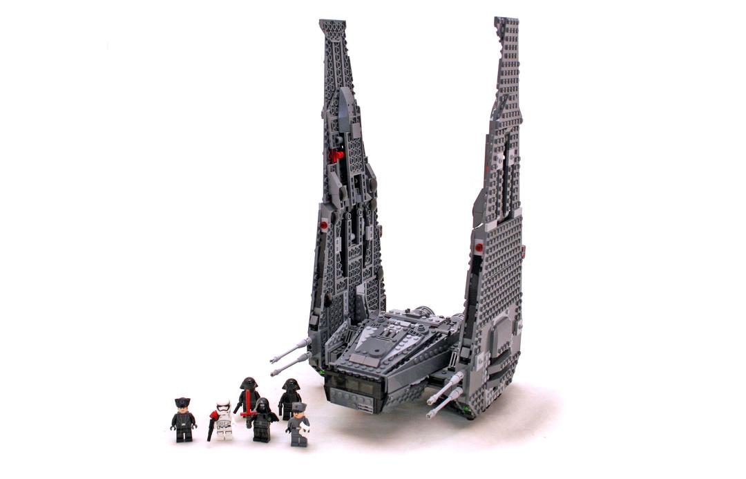 Kylo Ren's Command Shuttle - LEGO set #75104-1