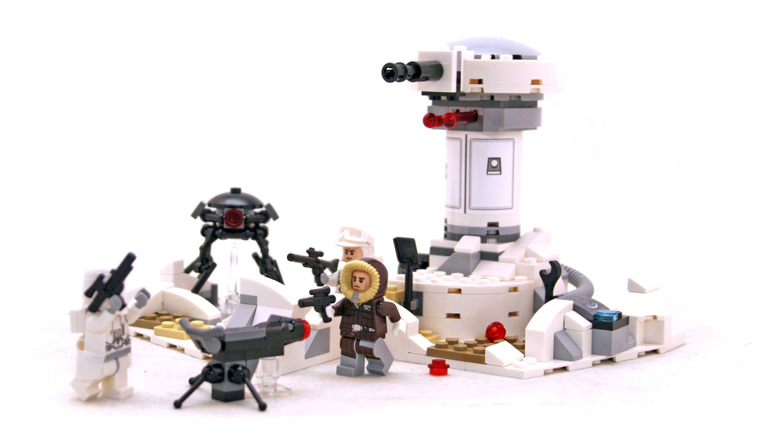 Hoth Attack - LEGO set #75138-1