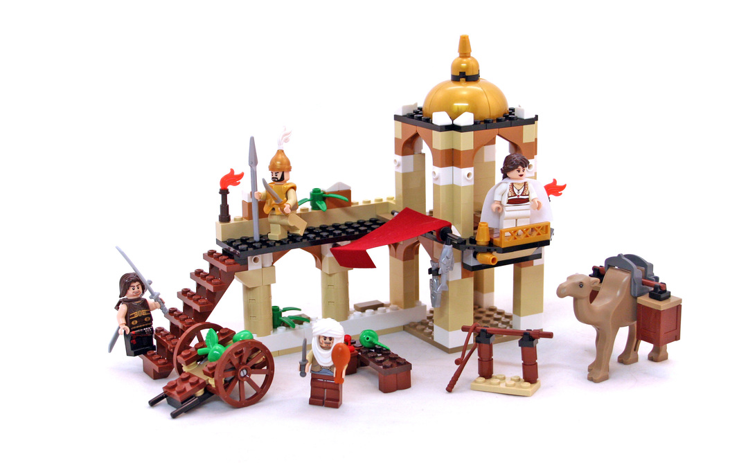 The Fight for the Dagger - LEGO set #7571-1 - 1