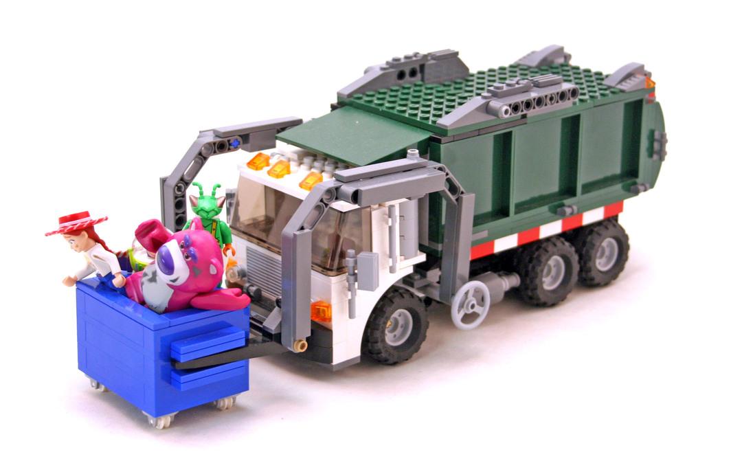 Garbage Truck Getaway Lego Set 7599 1 Building Sets Toy Story