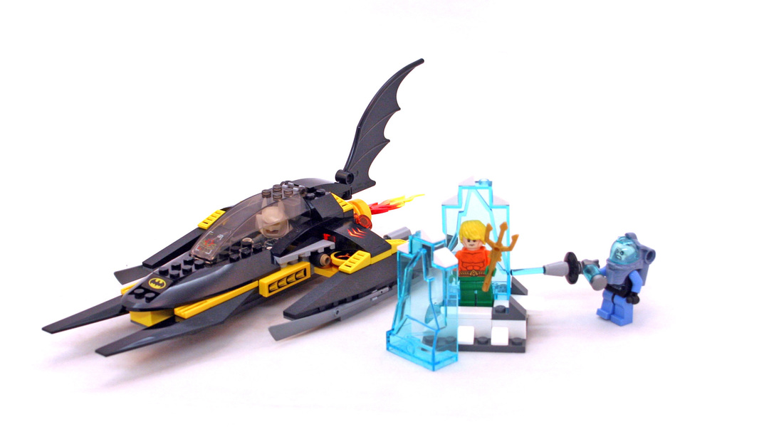 Arctic Batman vs. Mr. Freeze: Aquaman on Ice - LEGO set #76000-1