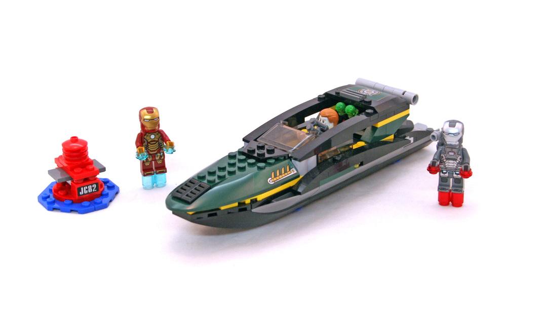 Iron man extremis sea port battle lego set 76006 1 - Lego iron man extremis sea port battle ...
