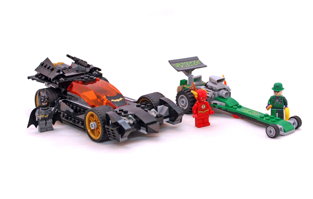 Batman: The Riddler Chase - LEGO set #76012-1