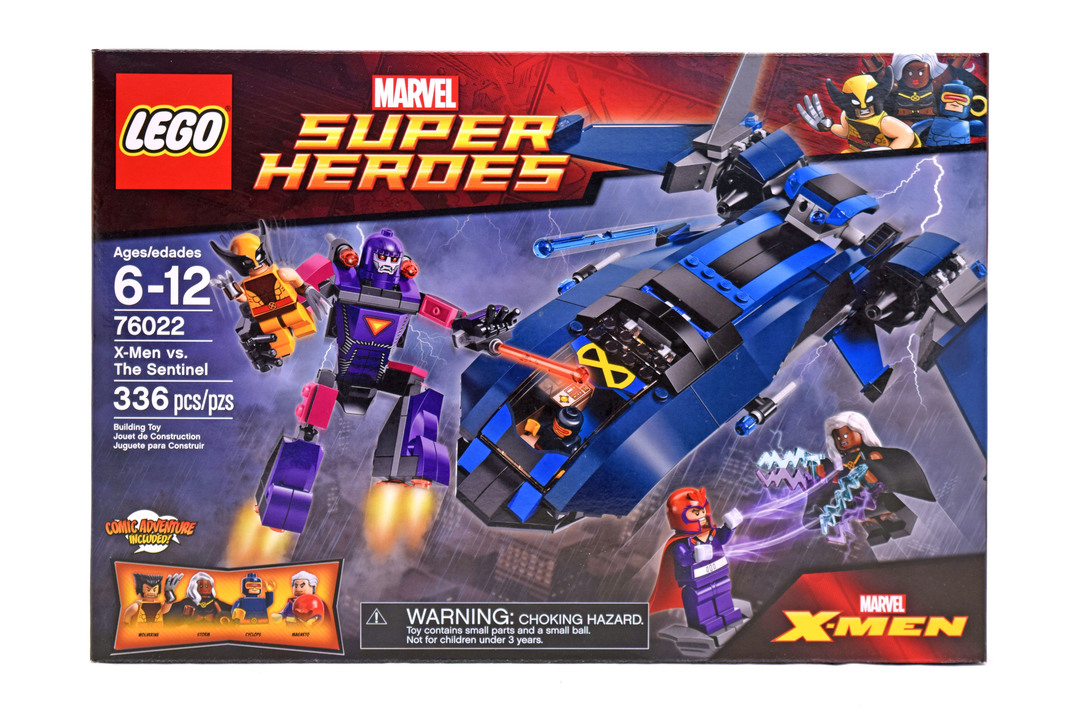 X Men Vs The Sentinel Lego Set 76022 1 Nisb Building Sets