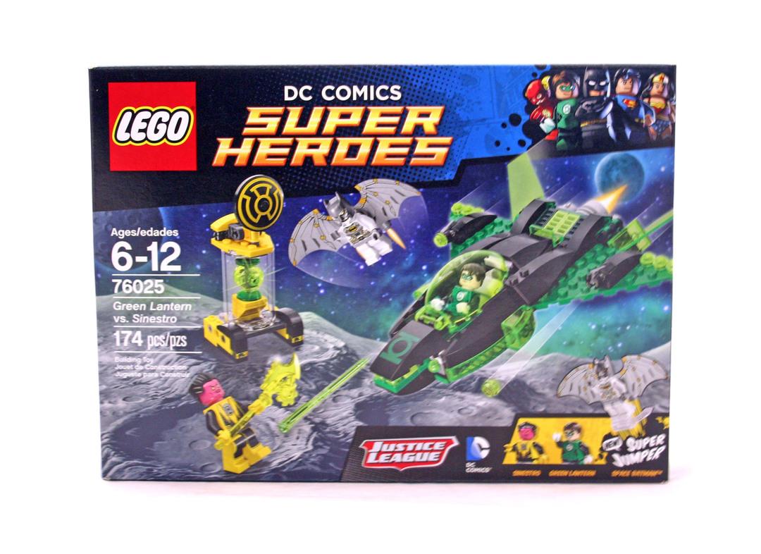 Green Lantern vs. Sinestro - LEGO set #76025-1 (NISB)