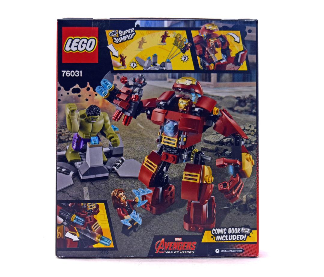 LEGO MARVEL: The Hulk Buster Smash 76031 REVIEW | Truthfulnerd