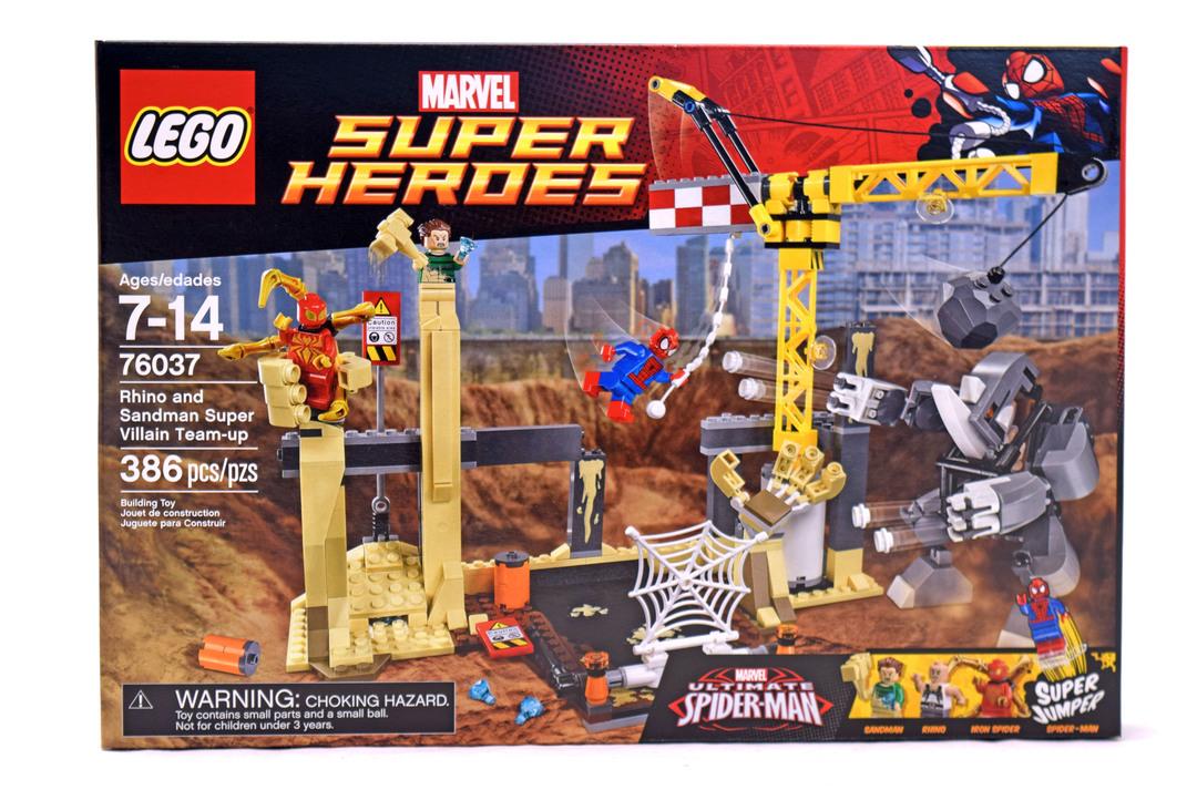 Rhino And Sandman Super Villain Team Up Lego Set 76037 1 Nisb