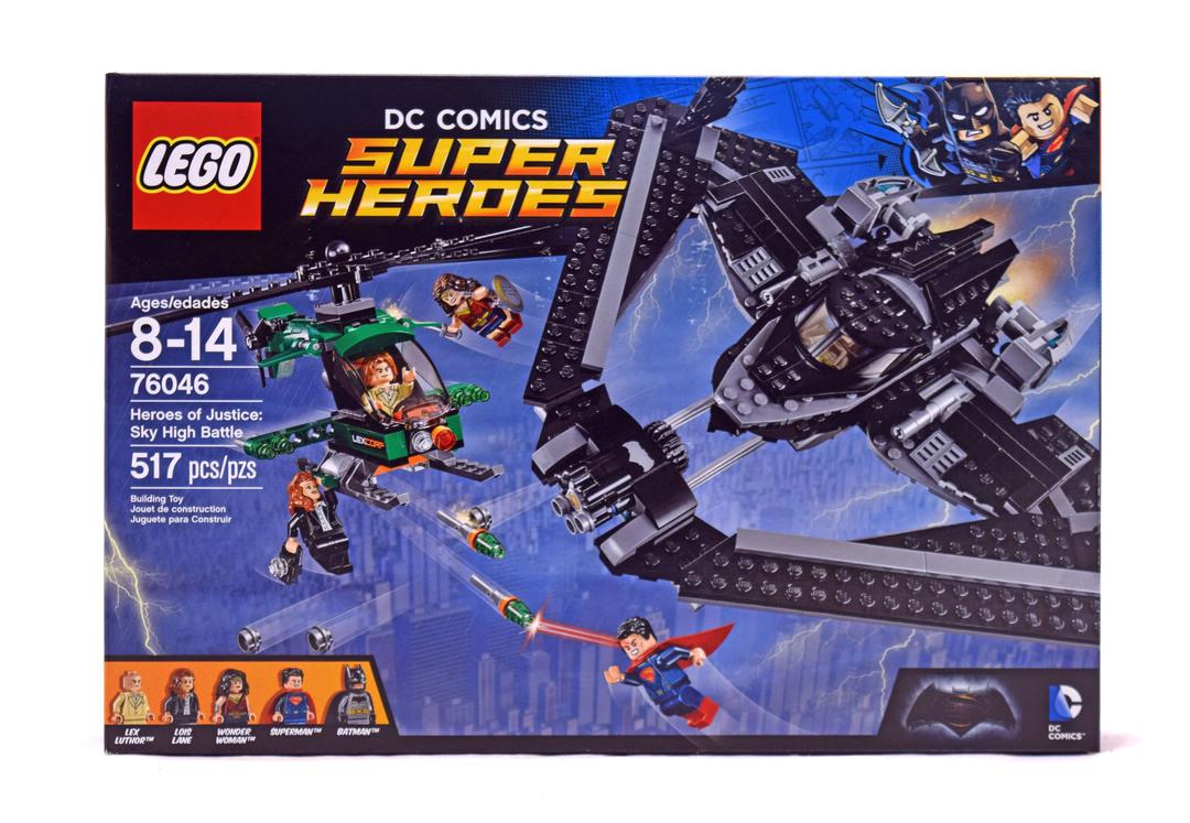 Heroes of Justice: Sky High Battle - LEGO set #76046-1 (NISB)