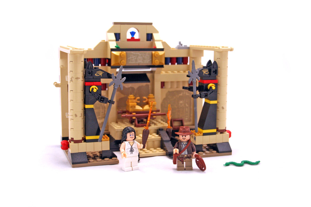 Indiana Jones And The Lost Tomb Lego Set 7621 1 Building Sets