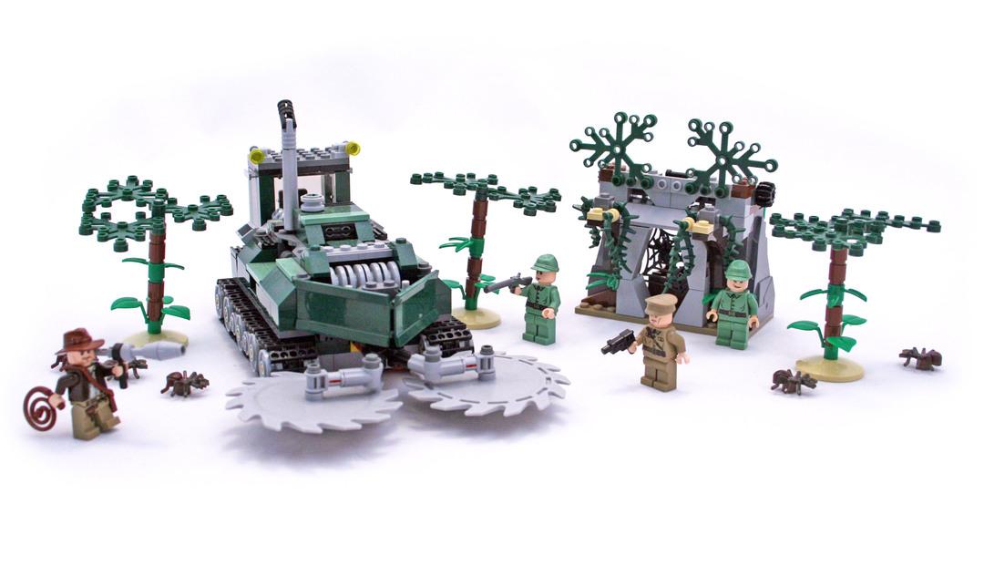 Jungle Cutter - LEGO set #7626-1 - 1