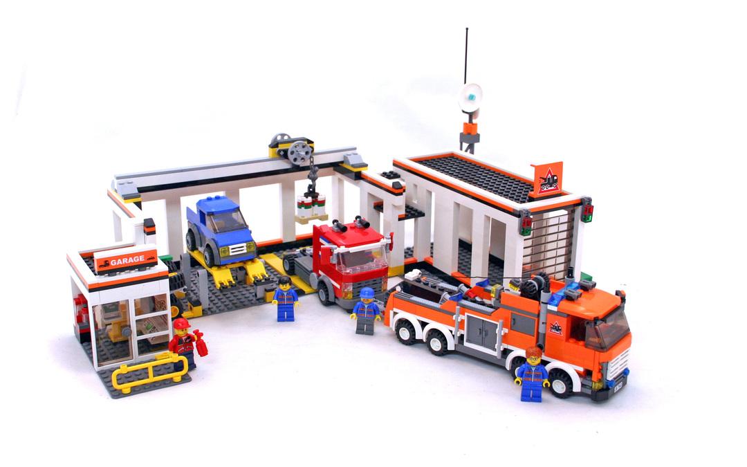 Garage Lego Set 7642 1 Building Sets Gt City