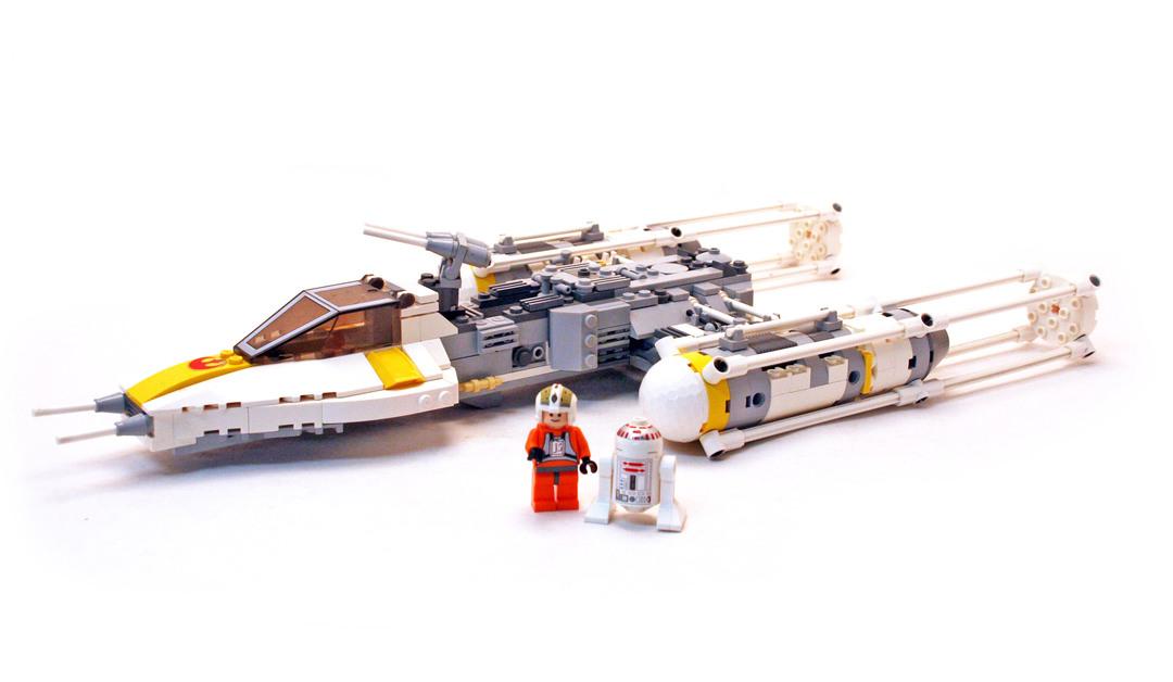 Y Wing Fighter Lego Set 7658 1 Building Sets Star Wars