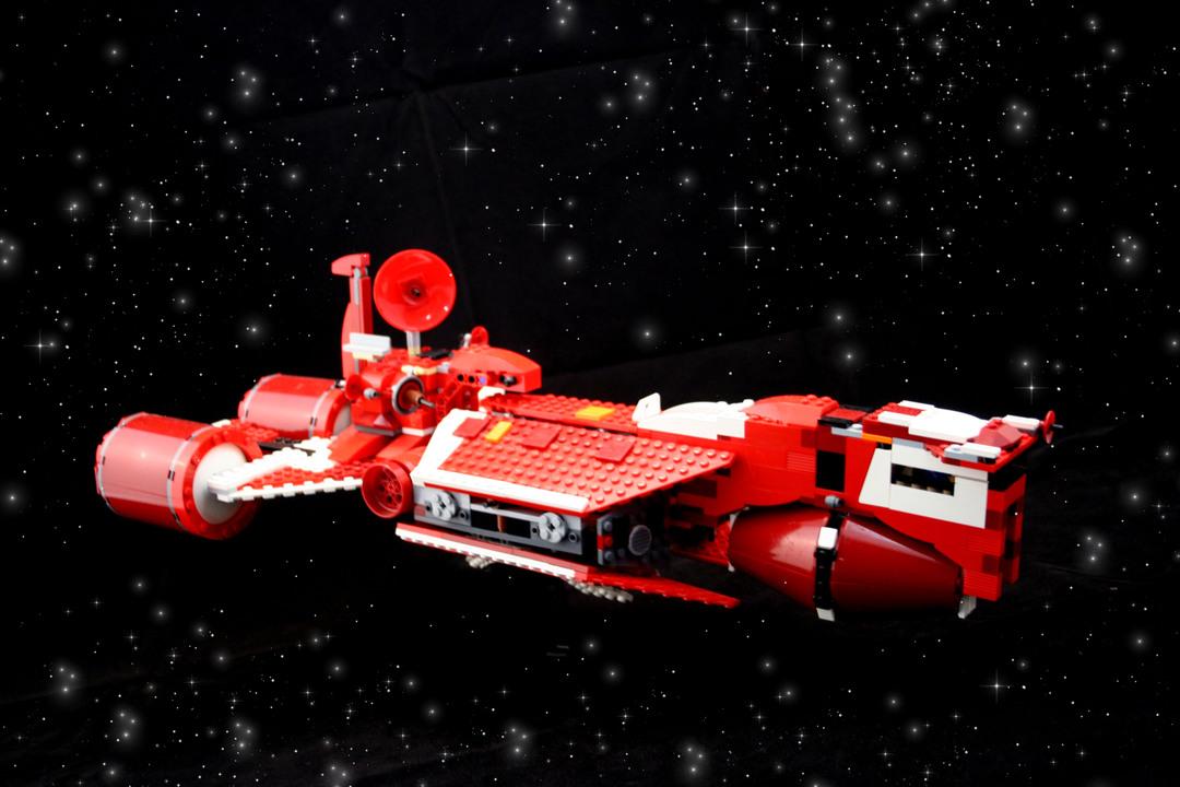 Republic Cruiser - LEGO set #7665-1 (Building Sets > Star ...