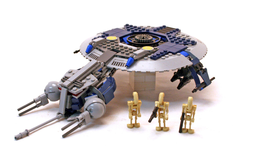 Droid Gunship - LEGO set #7678-1