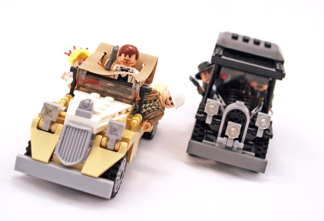 Shanghai Chase - LEGO set #7682-1