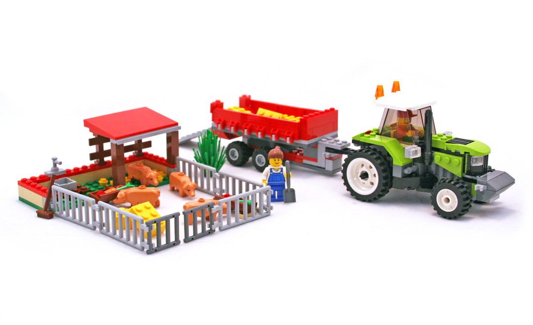 Pig Farm Tractor Lego Set 7684 1 Building Sets City