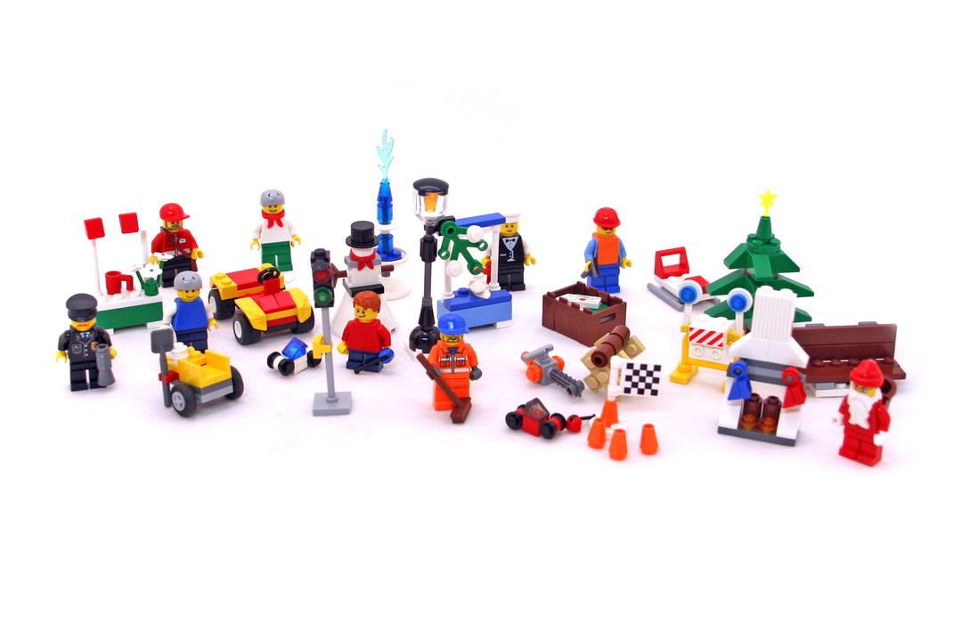 City Advent Calendar Lego Set 7687 1 Building Sets City