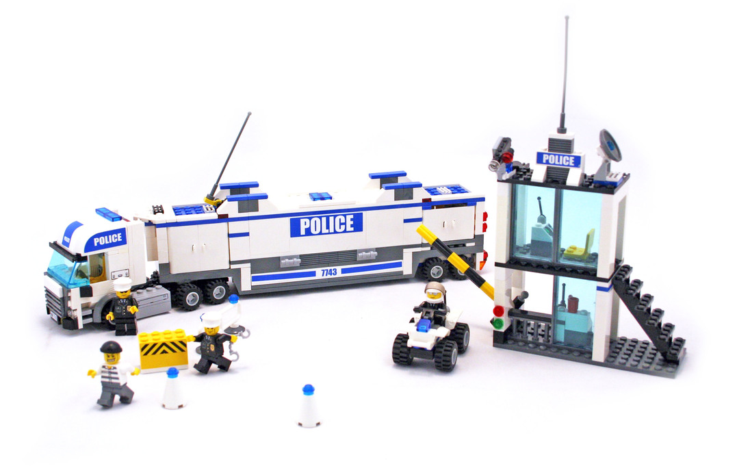 Police Command Center Lego Set 7743 1 Building Sets City