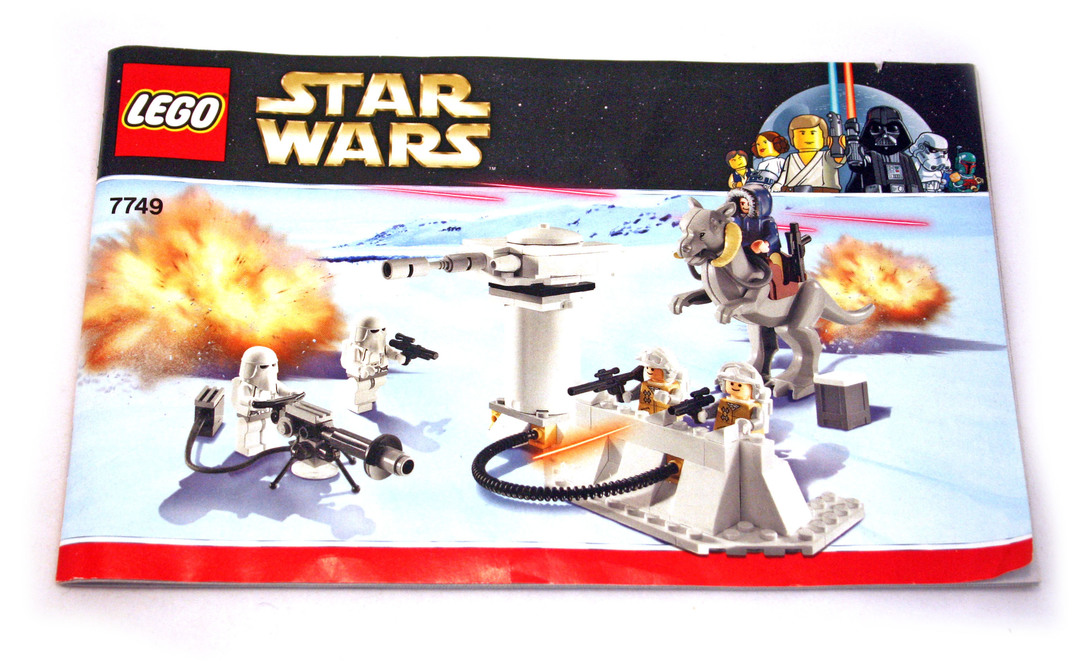 lego star wars hoth echo base 7749 instructions