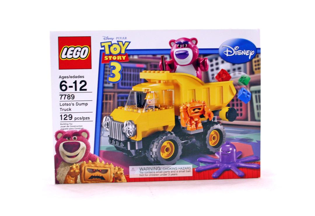 lego trash truck instructions