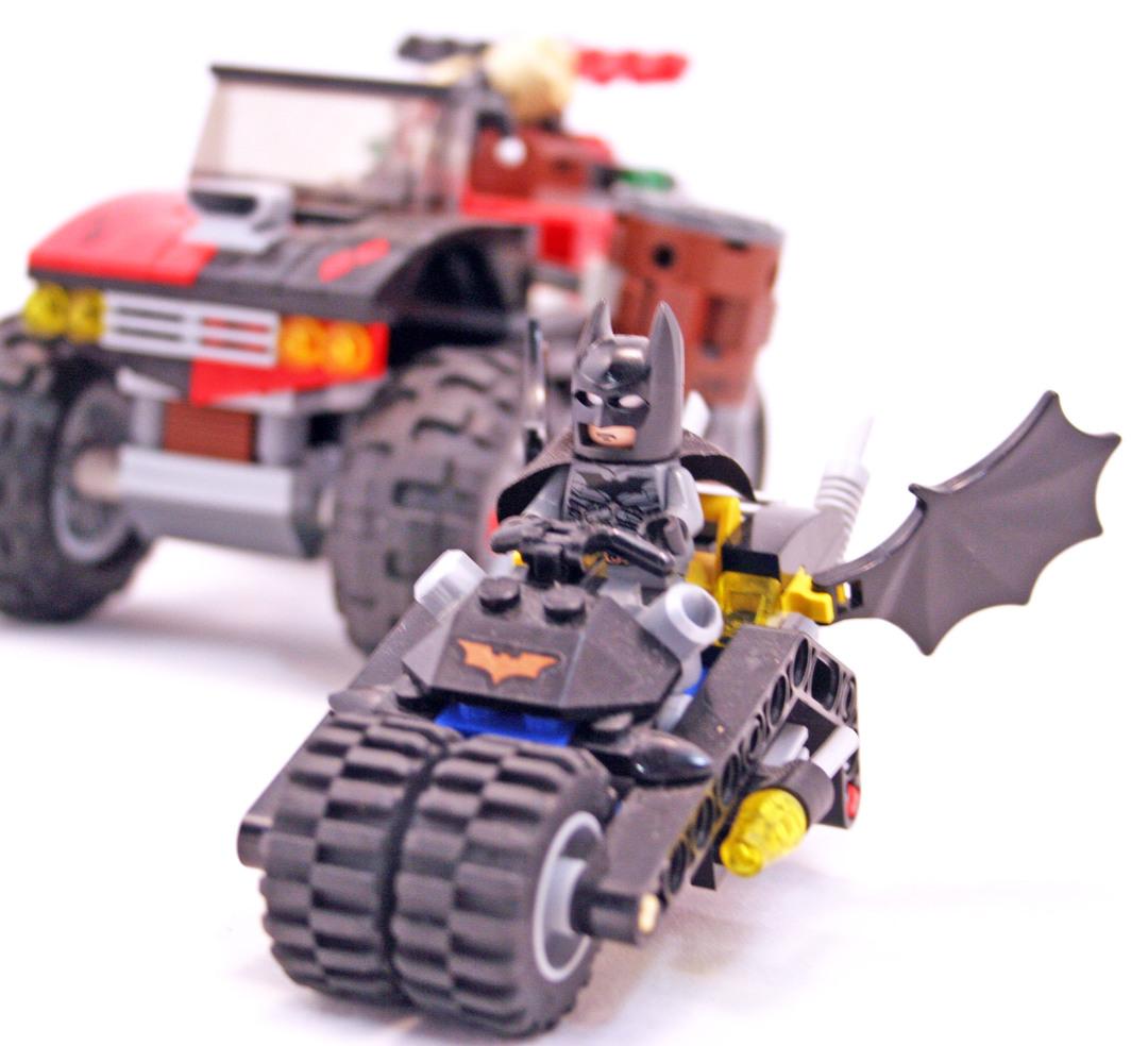 lego harley quinn hammer truck instructions