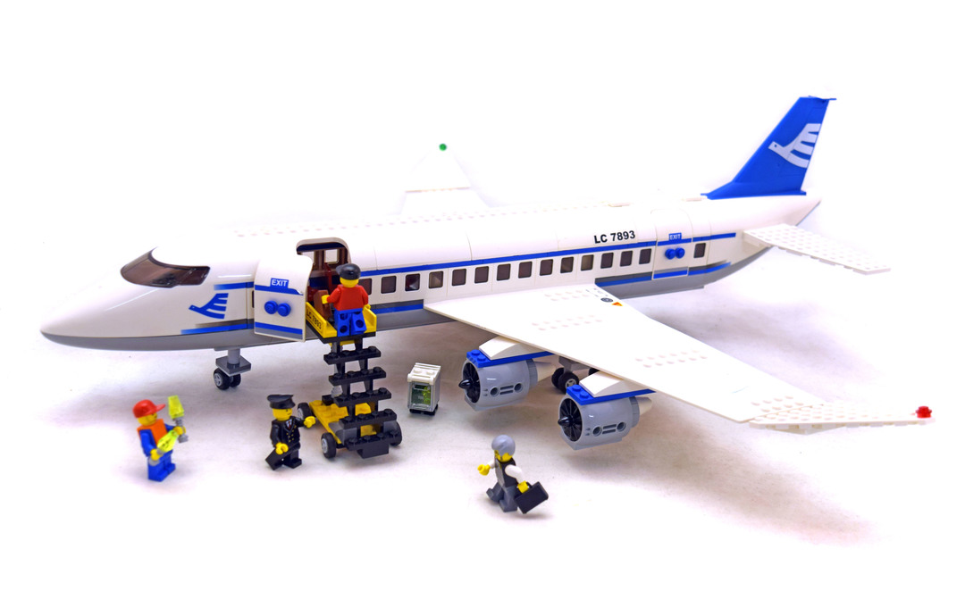 Passenger Plane Lego Set 7893 1 Building Sets City Airport