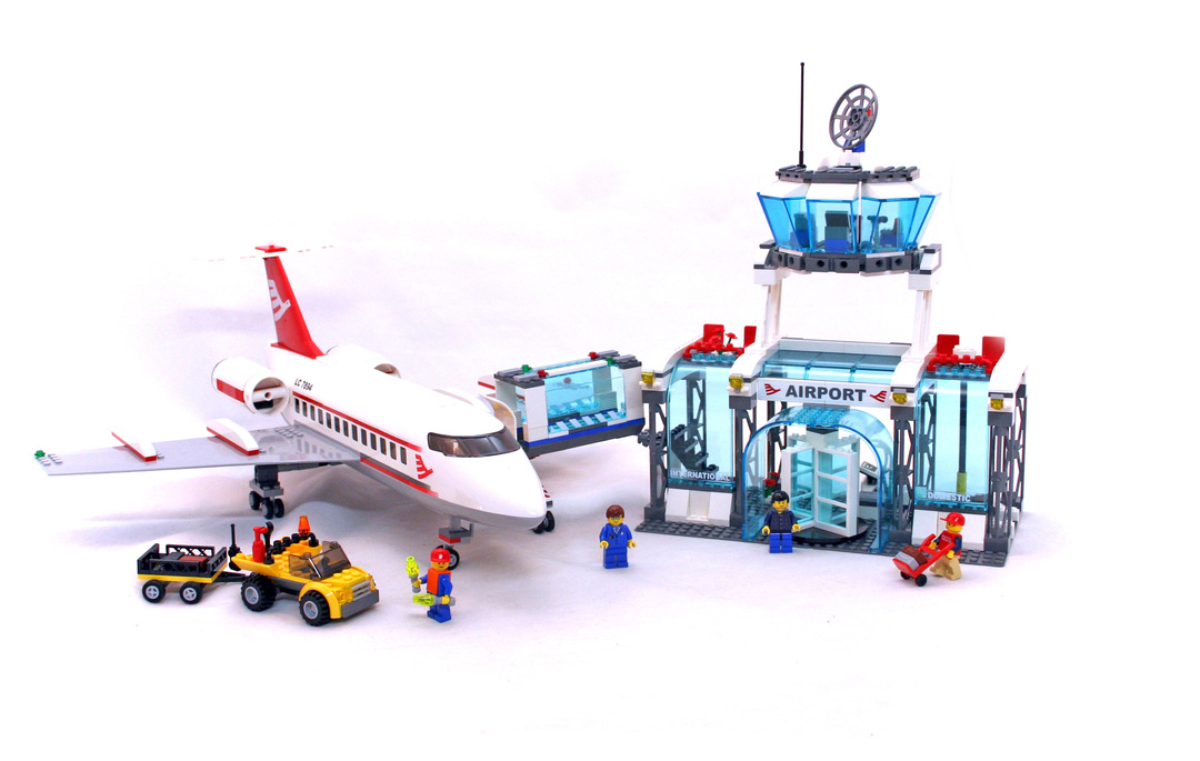 Airport Lego Set 7894 1 Building Sets City Airport