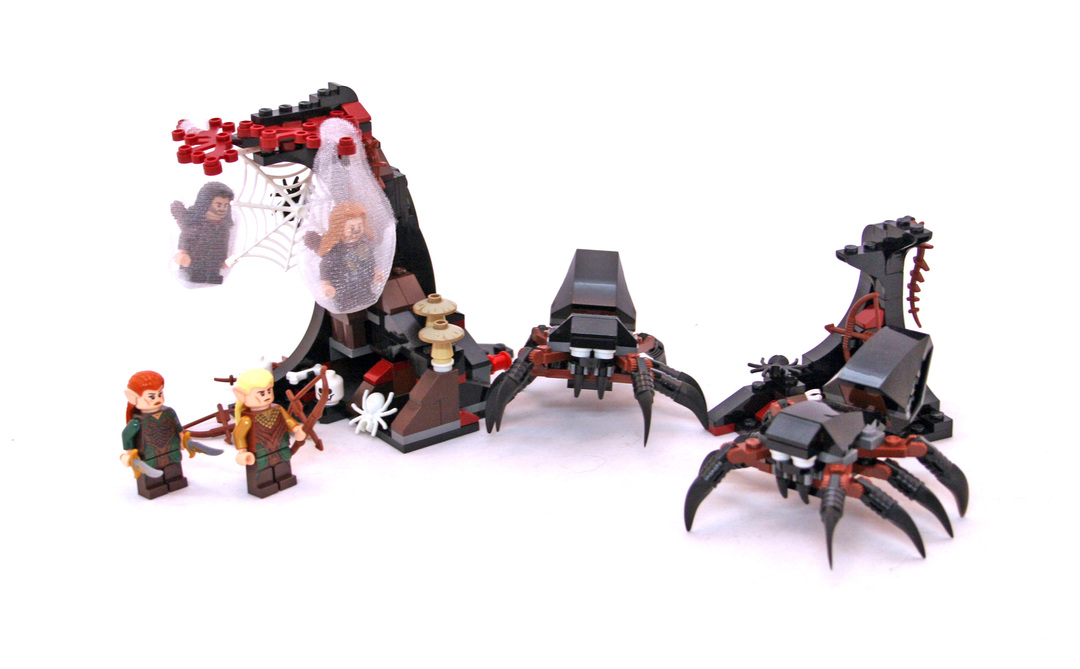 LEGO 79001  The Hobbit Escape from Mirkwood Spiders