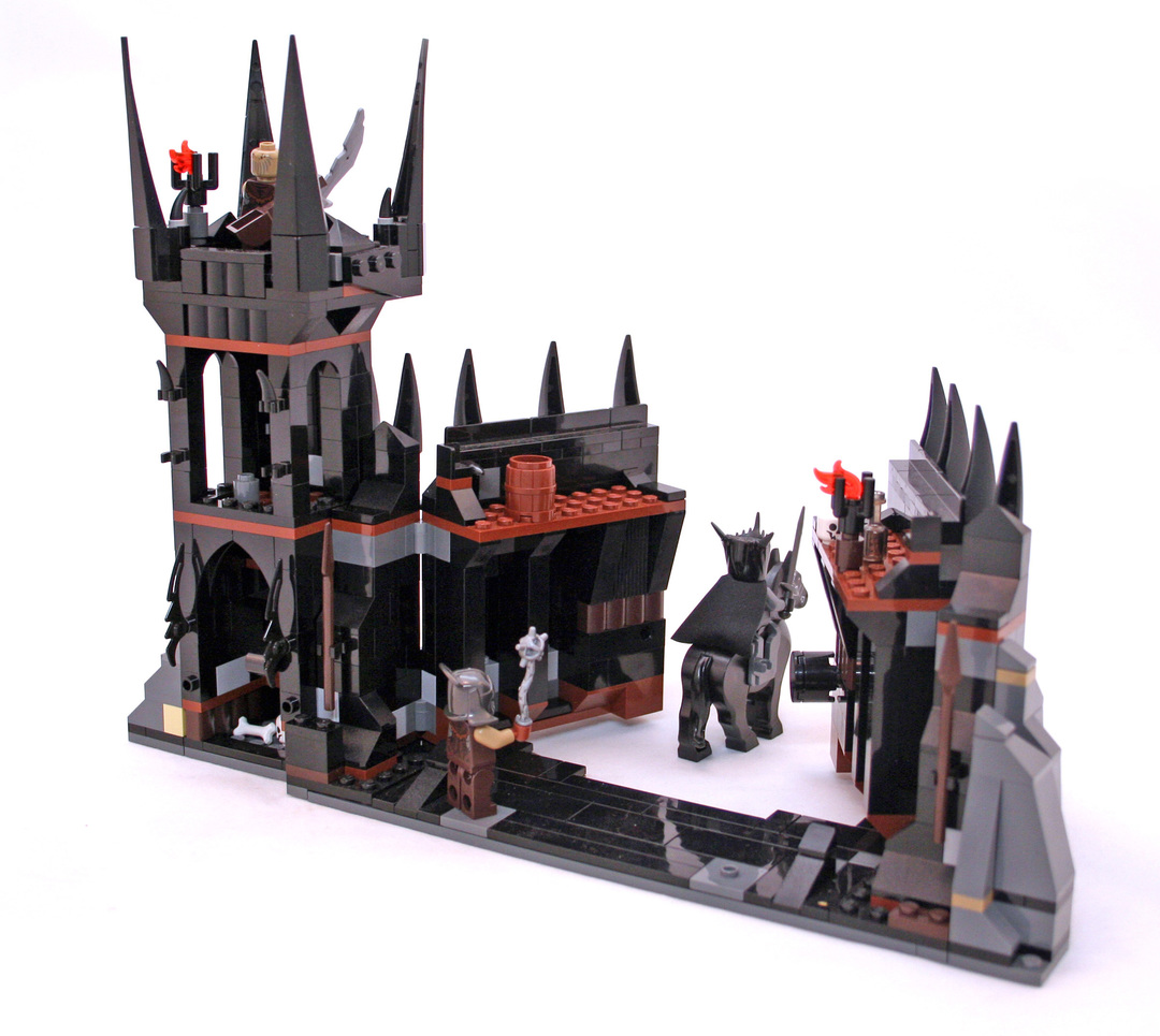 lego black gate instructions