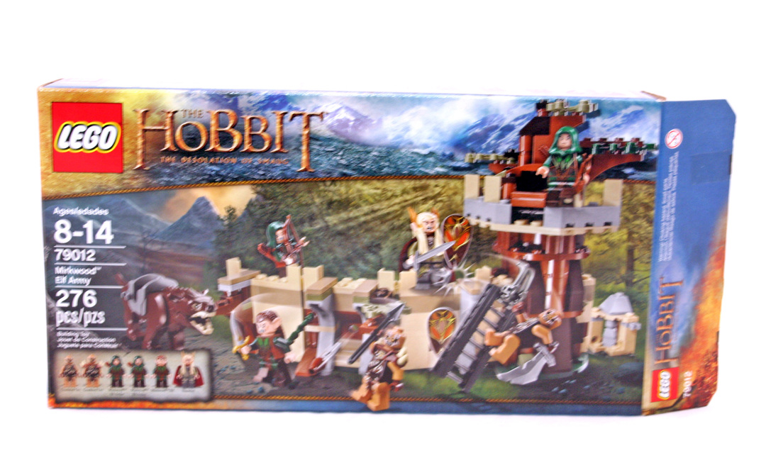 Lego® Hobbit Tier//Warg braun aus Set 79012 Neu
