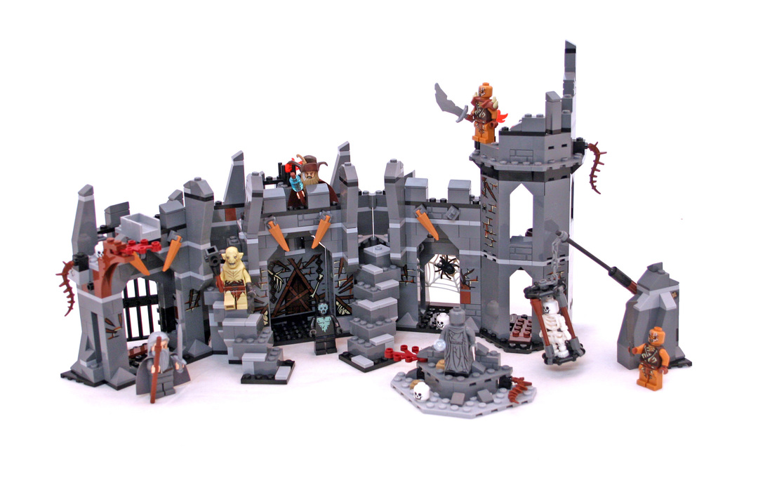 Baukästen & Konstruktion NEW Lego Hobbit Necromancer of Dol Guldur  Set 79014 Dol Guldur Battle LEGO Minifiguren