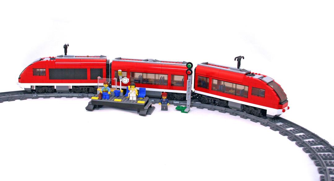 Passenger Train Lego Set 7938 1 Building Sets City