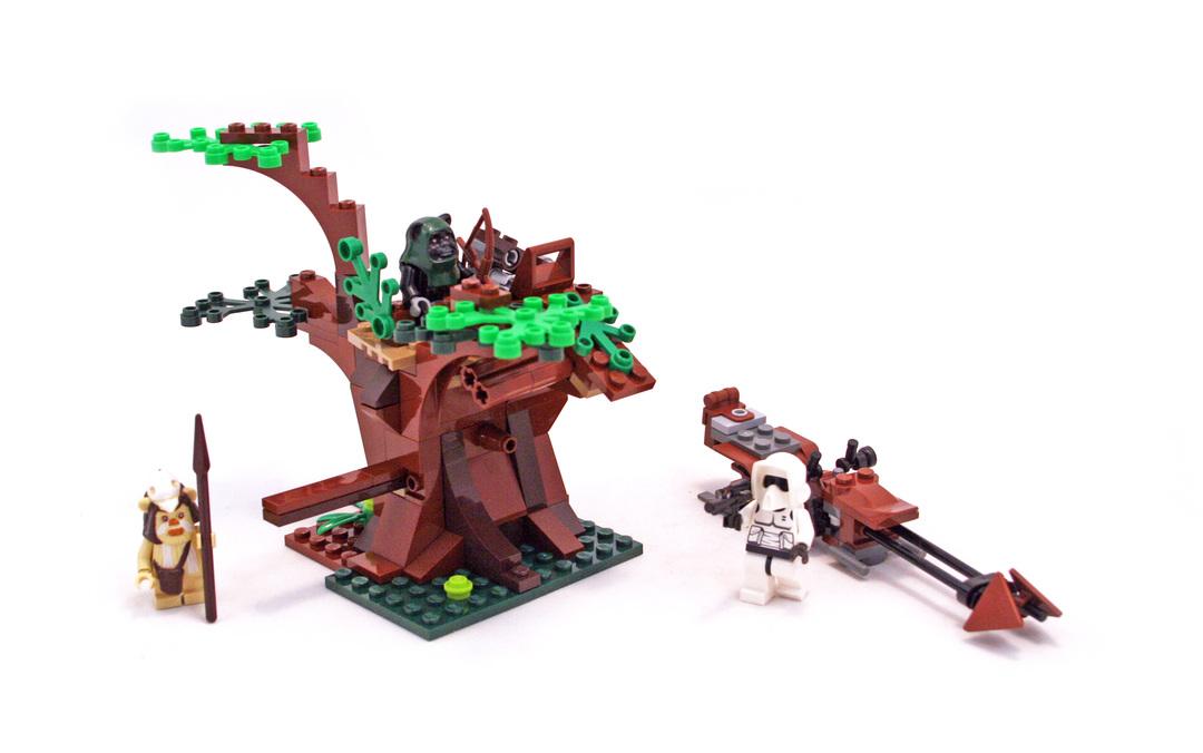 Ewok Attack - LEGO set #7956-1
