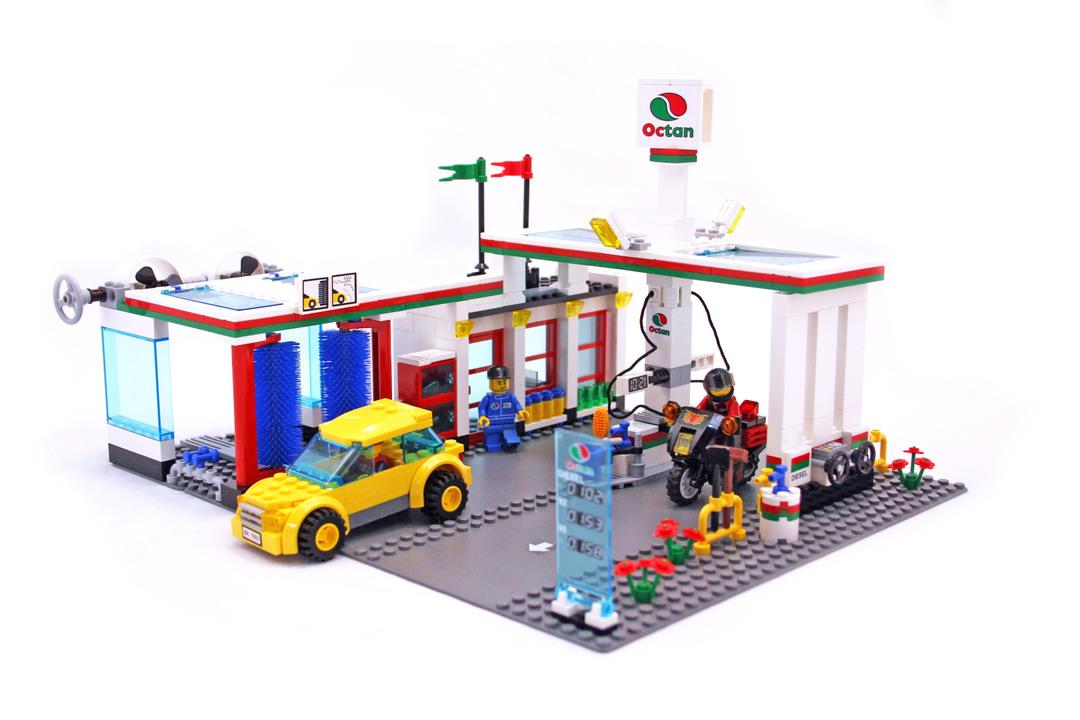 service station lego set 7993 1 building sets city. Black Bedroom Furniture Sets. Home Design Ideas