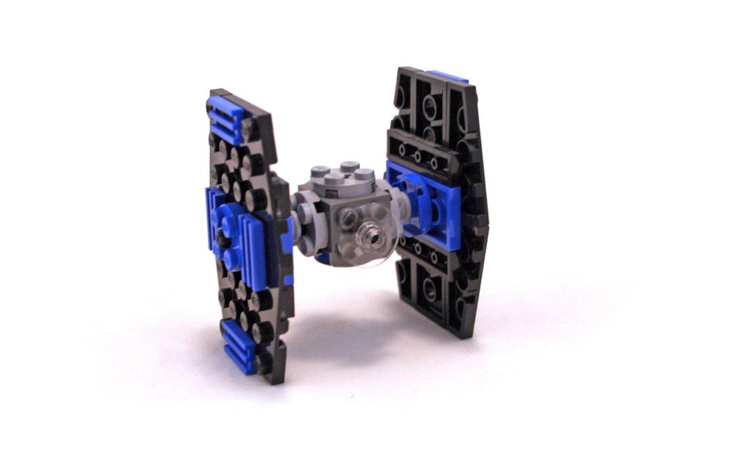 Mini TIE-Fighter - LEGO set #8028-1 (Building Sets > Star Wars > Mini)
