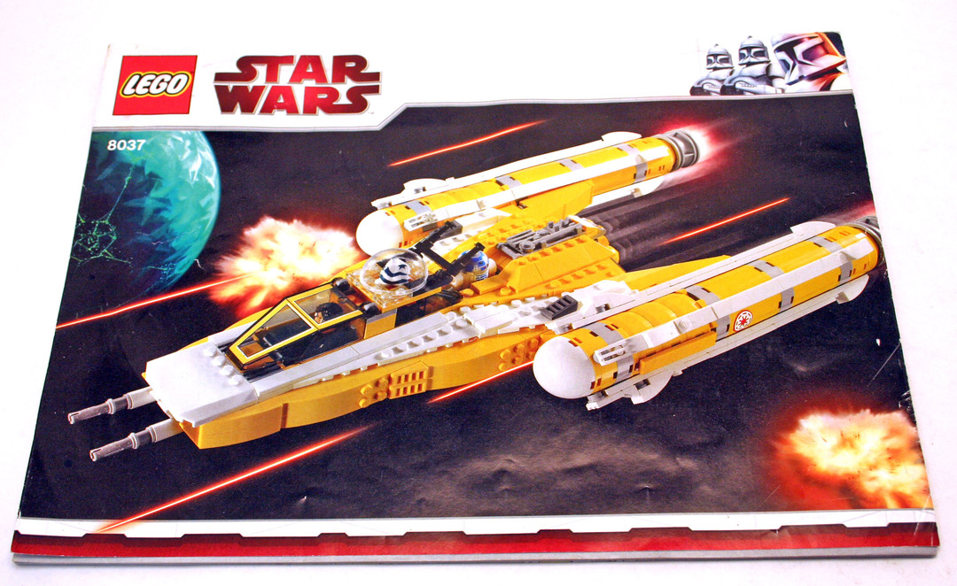 anakin skywalker starfighter lego instructions