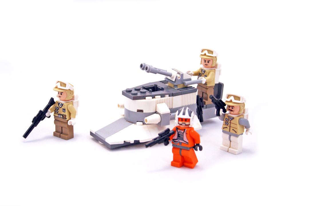 Rebel Trooper Battle Pack Lego Set 8083 1 Building Sets Star