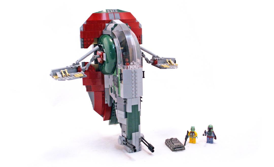 Slave I - LEGO set #8097-1