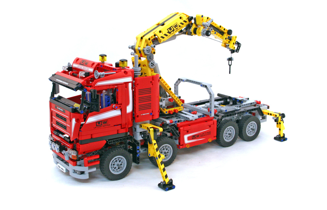 crane truck lego set 8258 1 building sets technic. Black Bedroom Furniture Sets. Home Design Ideas