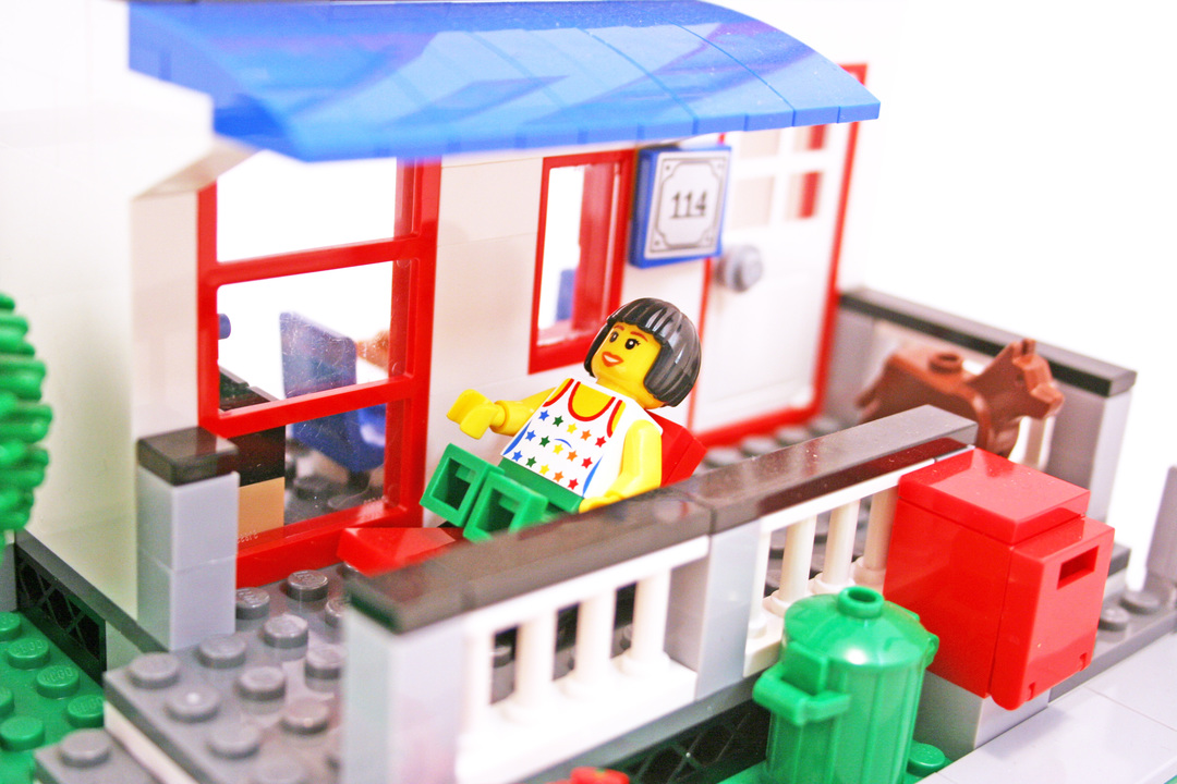 City House - LEGO set #8403-1 (Building Sets > City)
