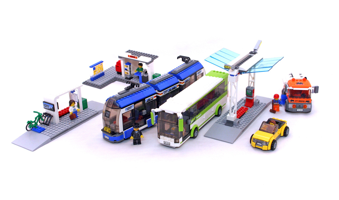 Public Transport Station - LEGO set #8404-1 - 1