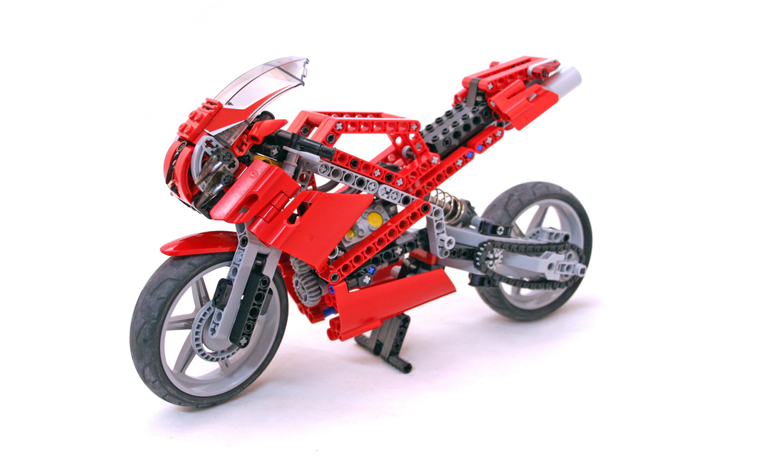 Street Bike - LEGO set #8420-1